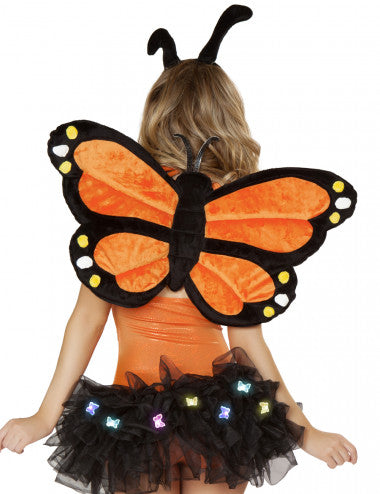 Butterfly Halloween Costume Wings Accessory Holiday Dress Up