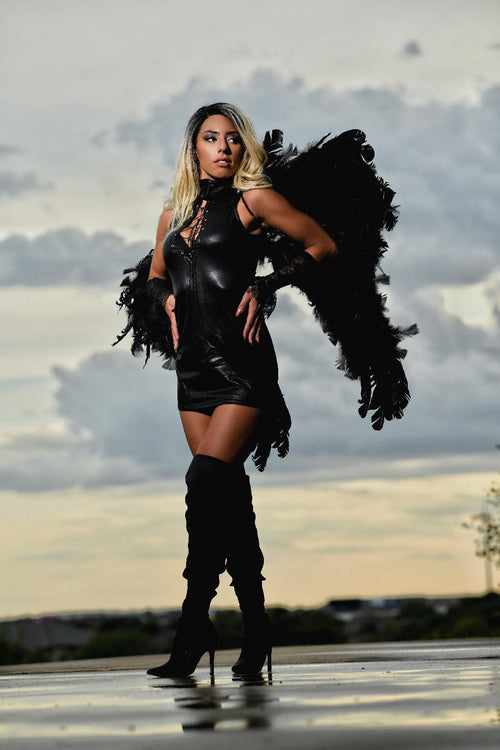 Dark Latex Angel