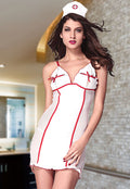 Naughty Nurse Doctor Role Play Hospital Chemise Lingerie Halloween Costume 8756