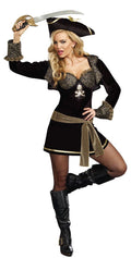 Rock The Ship Pirate Captain Halloween Costume 9433 Small