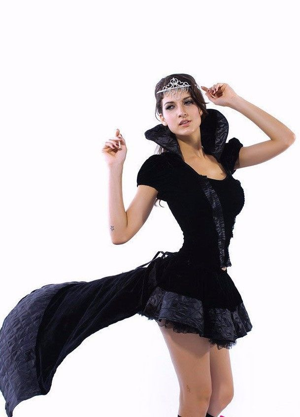... Dark Evil Queen Witches Sexy Witch Halloween Costume Large 8426 ...  sc 1 st  Too Posh Boutique & Dark Evil Queen Witches Sexy Witch Halloween Costume Large 8426 ...