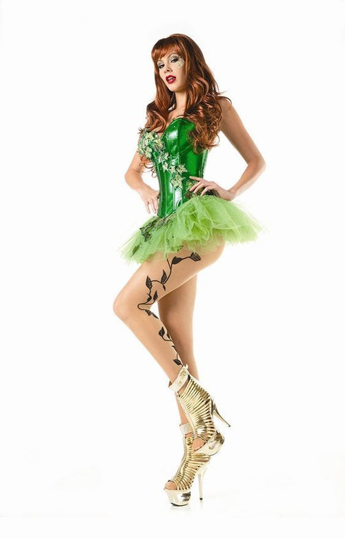 Poison Ivy Batman Halloween Cosplay Costume 1431
