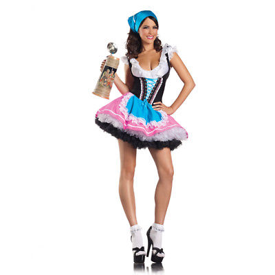 German Austrian Beer Girl Costume
