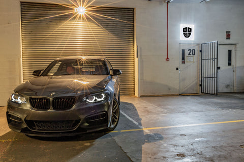 Custom Headlights For 2 Series - F22 F23 Pre LCI (Halogen) - BavGruppe Design Vision Angel Eyes