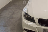 Custom Headlights For 3 Series - E90 E91 LCI (Halogen) - KYCS Exx/BavGruppe Design Full Circle Angel Eyes