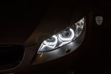 KYCS Gxx Angel Eyes (White) • Classic Blackout • G5 Projector Upgrade • Osram CBI Bulbs • LED Indicator