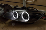 Prebuilt headlights with new lenses