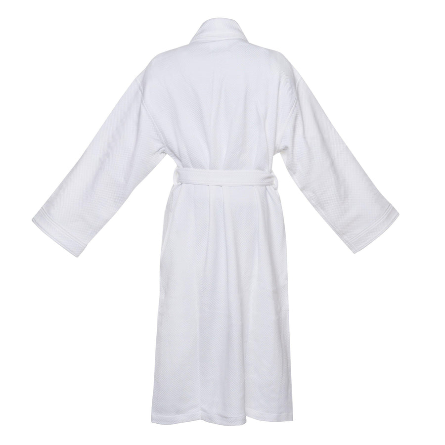 Pure Elegance Cotton & Modal Diamond Jacquard  Robe | Style: MD5000 - Luxury Hotel & Spa Robes by Chadsworth & Haig
