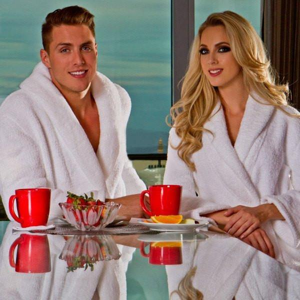 Plush Tresaro Chenille Robe | Style: TCR3000 - Luxury Hotel Robes