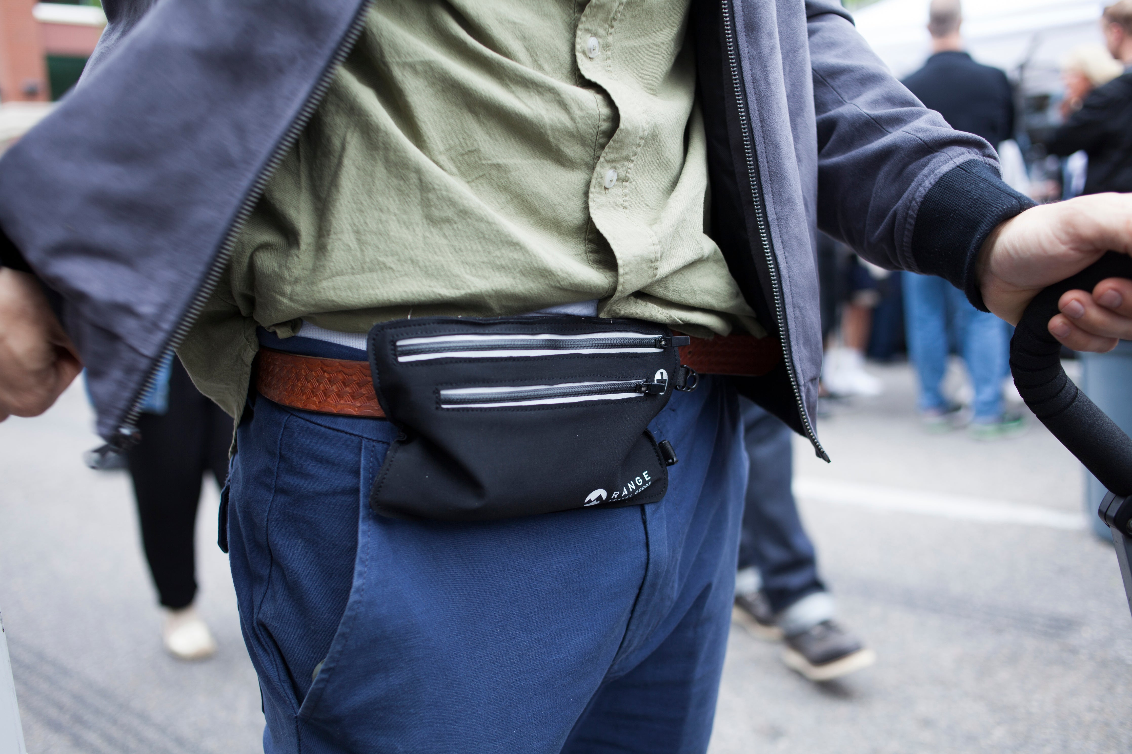 Travel Stash- Money belt / travel organizer