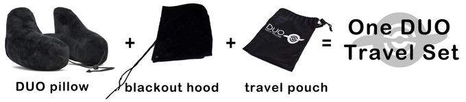 Duo Travel Pillow