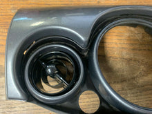 Load image into Gallery viewer, BMW Mini 00-06 Speedo Centre Trim Dark Grey With Vents OEM 0769337