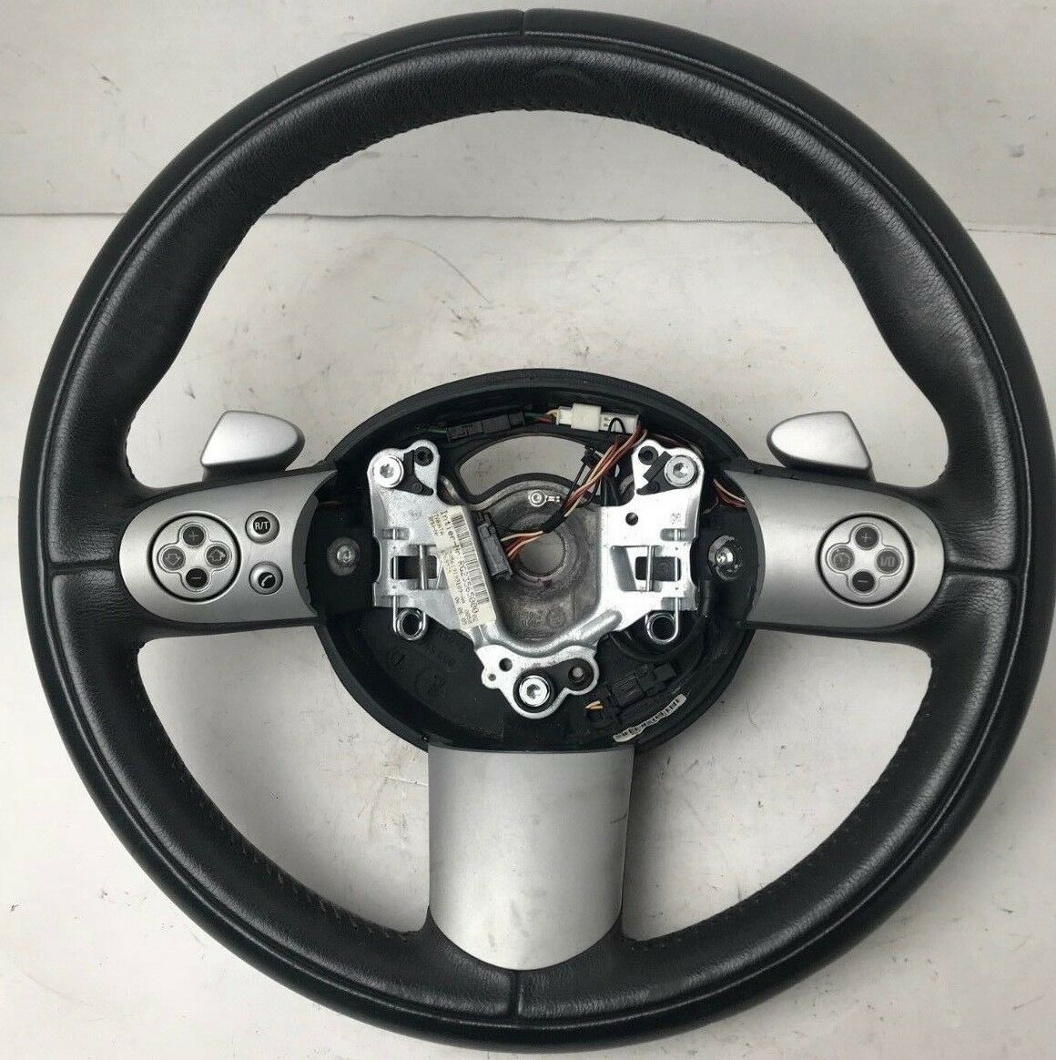 2002-2008 MINI COOPER R50 R52 R53 SPORT STEERING WHEEL CONTROLS SHIFT PEDAL OEM