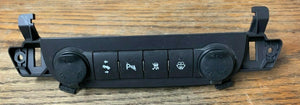 CHEVROLET AVALANCHE 07 08 09 10 11 12 13 PEDAL TRACTION PARK AID WASHER SWITCH