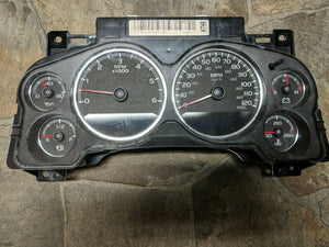 07 TAHOE: Speedometer (cluster), US, w/o police package; w/o off road package
