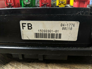 03 04 05 06 07 Hummer H2 Engine Bay Fuse Box Relay Block 15266961 or 15266952