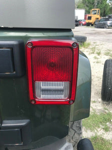 JEEP WRANGLER TAILLIGHT FACTORY OEM RIGHT 2007 2008 2009 2010 2011 2012