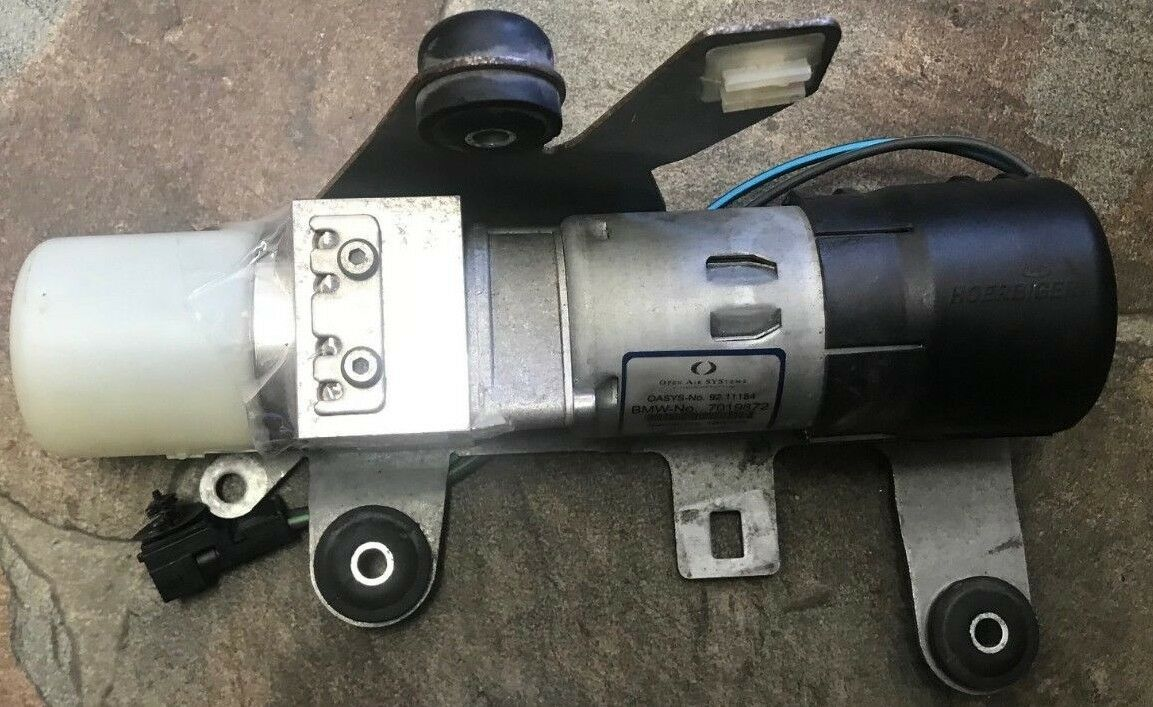 2005-2008 MINI COOPER CONVERTIBLE R52 ROOF TOP HYDRAULIC PUMP UNIT OEM