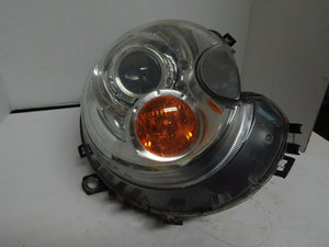 OEM BMW MINI COOPER DRIVERS RIGHT XENON HEADLIGHT LAMP 2007 08 09 10 YELLOW TURN