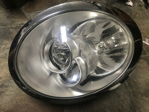2007 MINI COOPER CONVERTIBLE HALOGEN HEAD LIGHT LEFT DRIVER SIDE HEAD LAMP