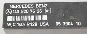 96-02 Mercedes R129 SL500 SL600 Blinker Hazard Warning Control Unit 1408207626
