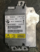 Load image into Gallery viewer, BMW E90 E91 E92 AIR BAG CONTROL MODULE  335XI 328I 330I 325I M3 9166057 OEM  a
