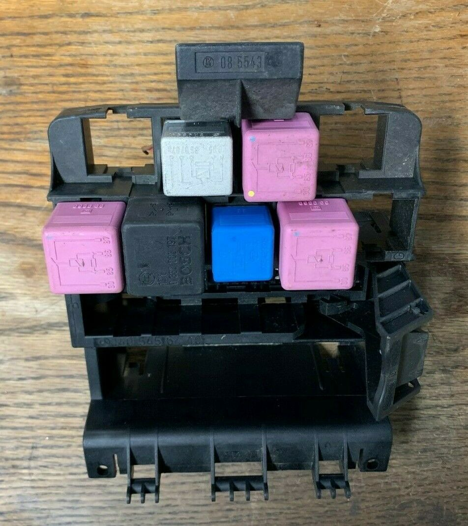 94-99 MERCEDES W140 S320 S420 S500 FUSE RELAY BOX 1405456440 OEM
