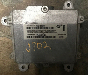 97-06 Jeep TJ Wrangler 56010300AB AIR BAG Airbag CONTROL MODULE