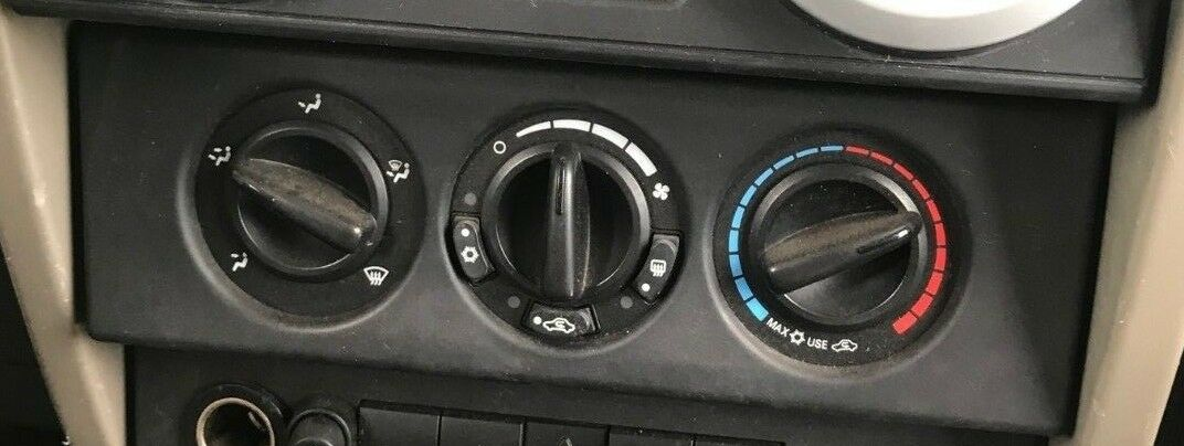 JEEP WRANGLER Heat/AC Controller heated back glass, w/AC 07 08 09 10,17H0870