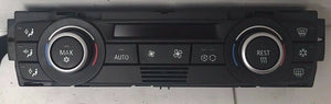 2007-2009 BMW 3 SERIES A/C HEATER CLIMATE CONTROL W/ HEATED SEAT OEM 64119162983