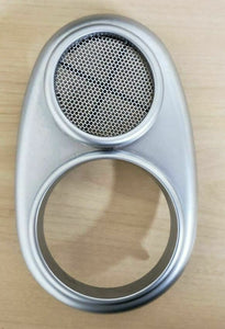02-08 MINI COOPER RIGHT FRONT DOOR SPEAKER GRILLE COVER R50 R52 R53 OEM 7075818