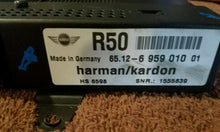 Load image into Gallery viewer, 02-08 MINI COOPER HARMAN KARDON AMP AMPLIFIER 65.12-6 959 010 01