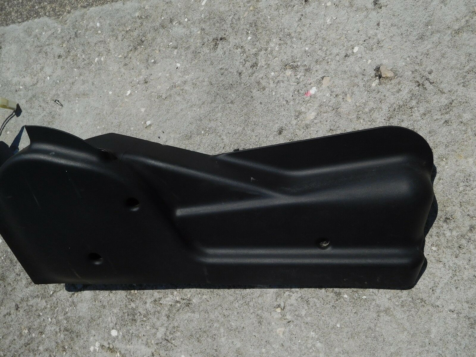 Hummer H2 2003 Seat Track Cover PASSENGER FRONT