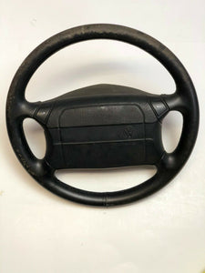 VW GOLF MK1 CABRIO COLLECTORS EDITION USA NAPPA LEATHER STEERING WHEEL & AIRBAG