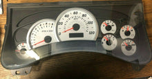 Load image into Gallery viewer, 2003 - 2004 HUMMER H2 INSTRUMENT PANEL CLUSTER GAUGE SPEEDOMETER 185K MILES OEM