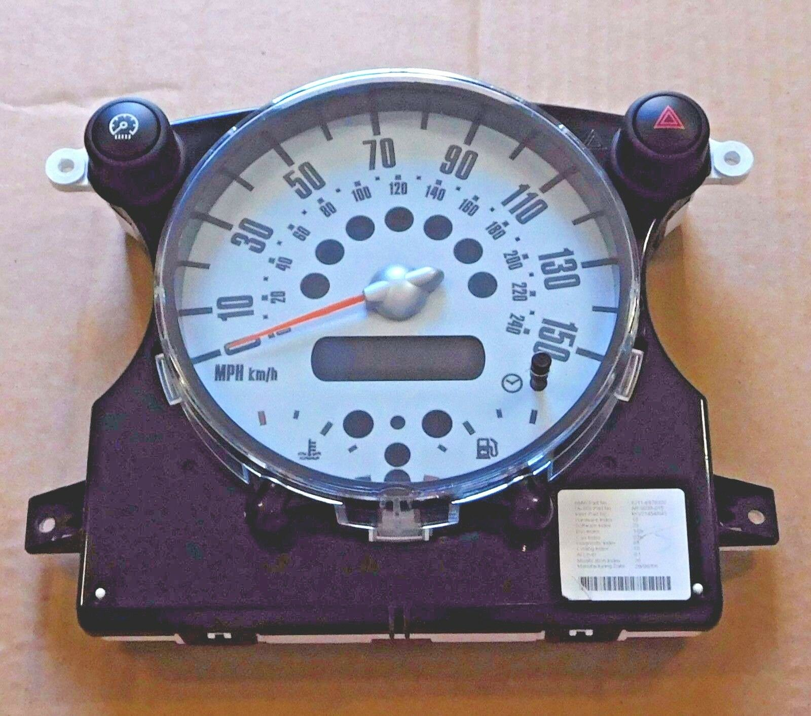 2006 Mini Cooper MPH In Dash Speedocluster OEM