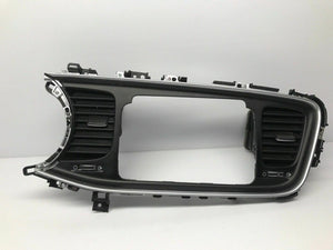 2014 2015 2016 Kia Optima Center Dash Radio Display Bezel Vents Silver Trim Oem