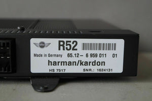 2005-08 MINI Cooper Convertible Audio Radio Harman Kardon HK Amplifier Amp OEM