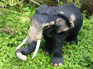 Elephant figurines from Sri Lanka