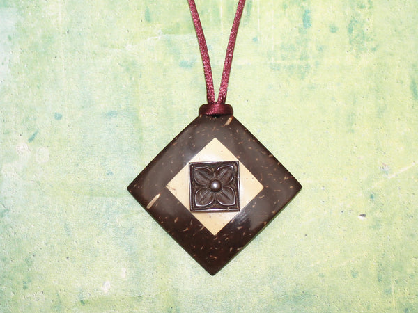 Coconut shell pendants - 10 designs