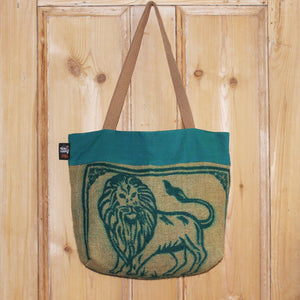 Hessian shopping bag - 3 colours