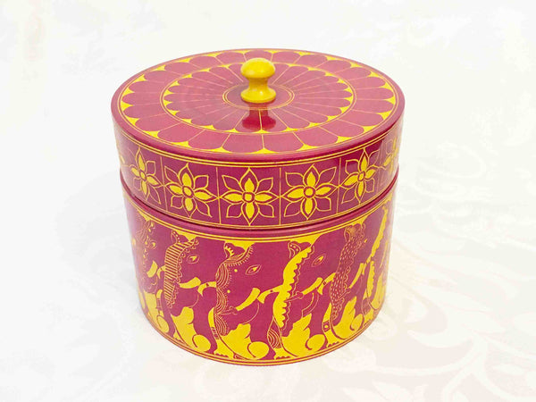 Lacquer pots - 6 colours