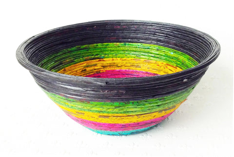 Newspaper bowl - Round, Large, 7 colours