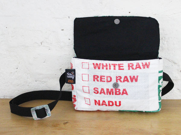 Rice sack hip bag - 4 colours