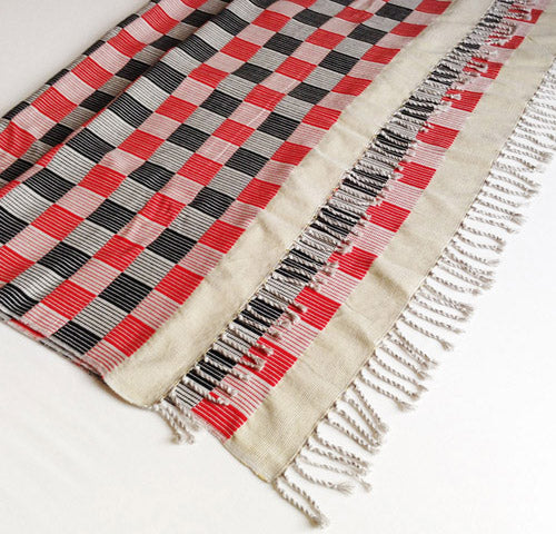 Bed runner, throw or wall hanging - handwoven