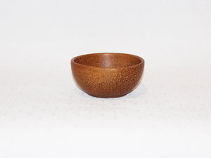Coconut wood bowls - five sizes