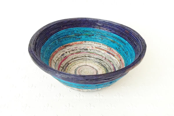 Newspaper bowl - Round, Medium, 6 colours
