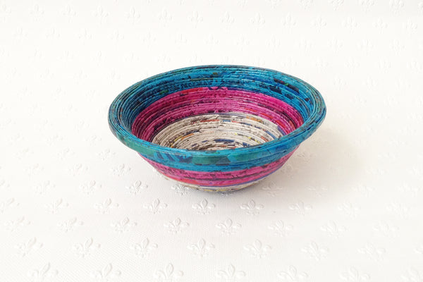 Newspaper bowl - Round, Small, 7 colours