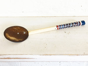 Coconut shell spoons - small, 4 colours