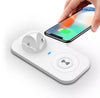 Image of Qi Wireless Charger with 3 Port Charging Dock